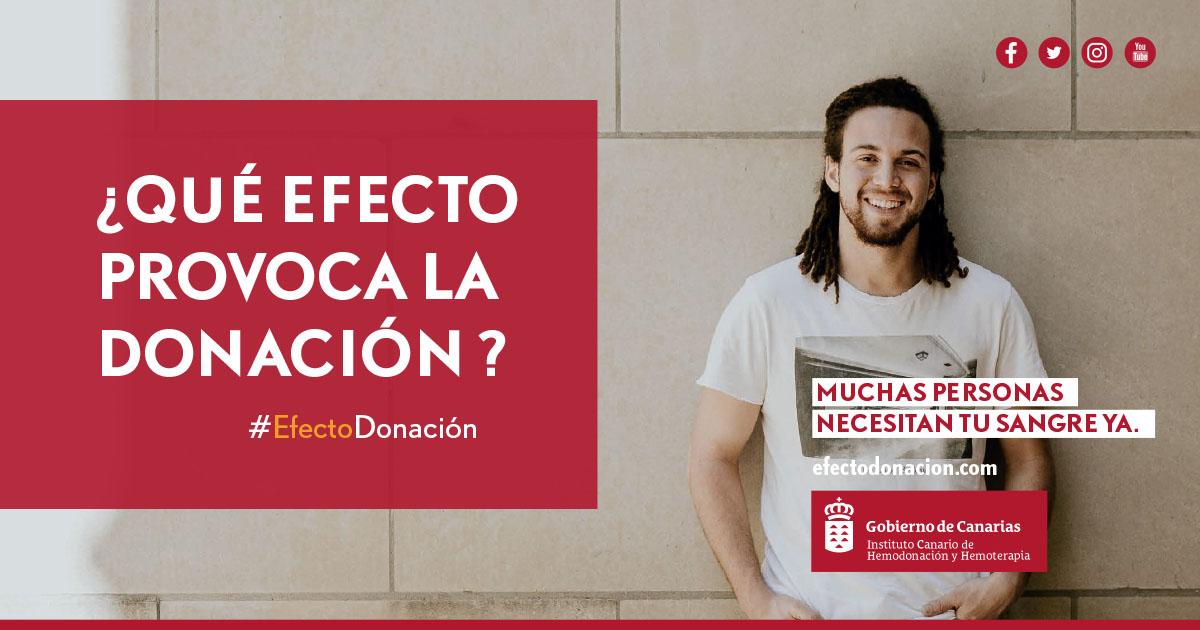 Qué efecto provoca la donación de sangre