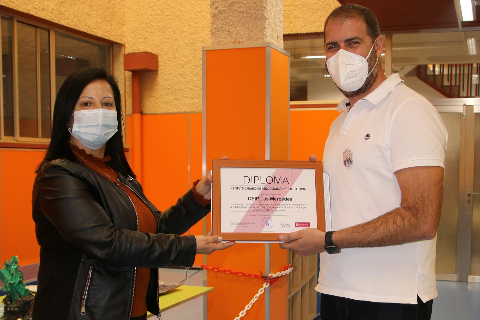 El ICHH y el CEIP Las Mercedes colaboran con la V campaña de donación de sangre