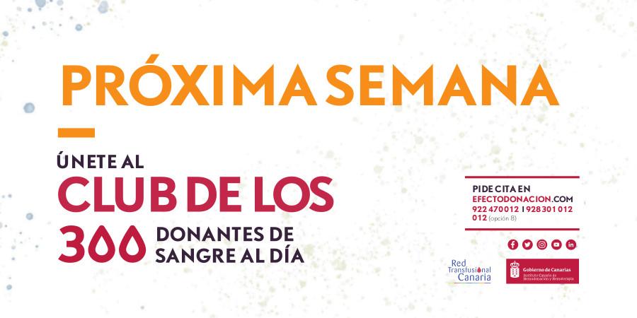 ¿Dónde puedo donar sangre la próxima semana en Canarias?