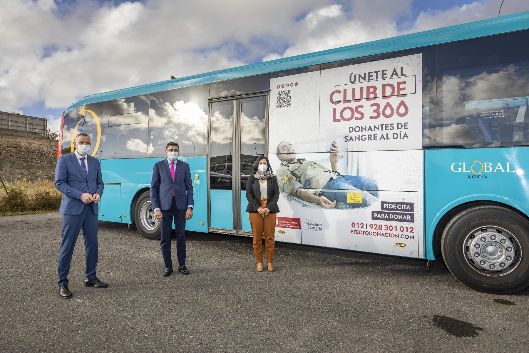 El ICHH, el Cabildo de Gran Canaria y Global se unen para promocionar la donación de sangre