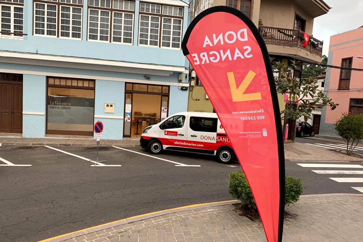 El ICHH despliega su campaña de donación de sangre en Los Realejos