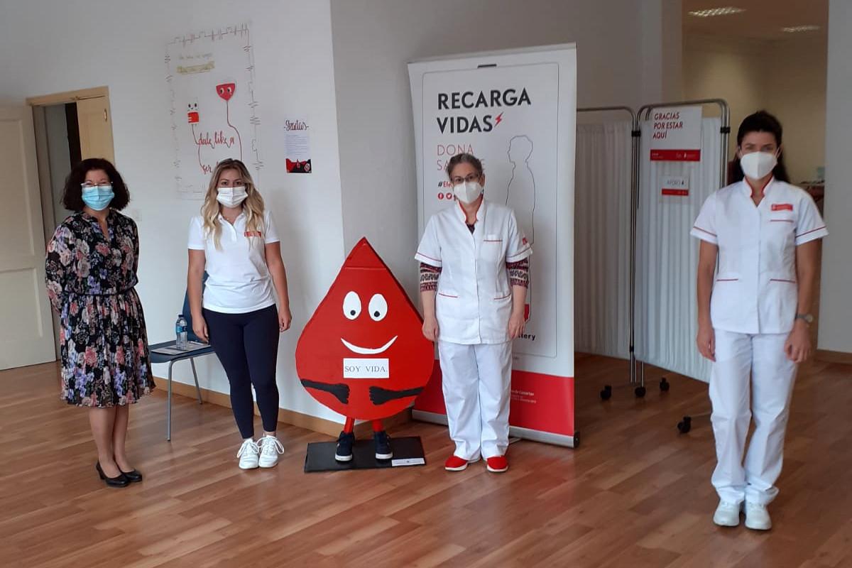 El alumnado del Colegio Pureza de María de Los Realejos lidera la campaña 'Dale un Like a ser donante'