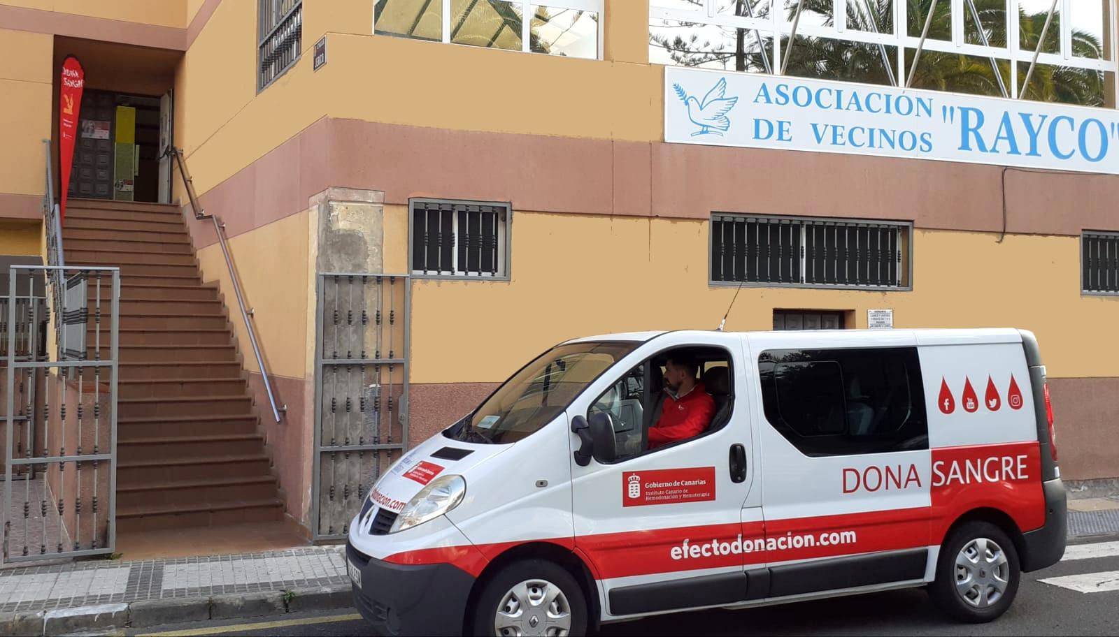 El ICHH acerca la donación de sangre a Lomo Los Frailes